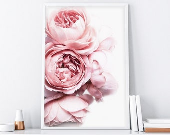 Peonies Photo,  Peony, Wall Art, Pink Peonies Print, Flower Print, Wall Decor, Gift for Her, Peonies Print, Floral Poster, Botanical Print