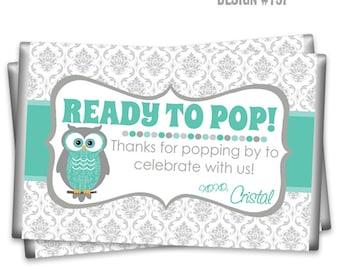 POPCW-757: DIY - Cute Owl Popcorn Wrapper