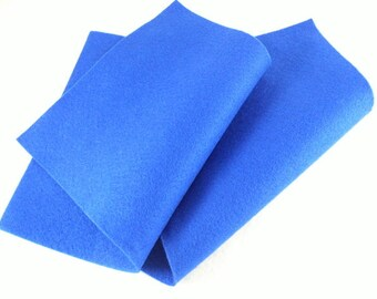 Crafting felt dark blue 2 sheets
