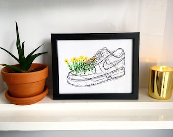 Nike Air Force 1 Drawing