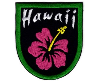 Hawaii patch crest for hawaii island Iron/Sew on Patch #011