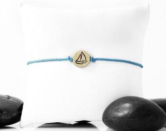 Sailing Jewelry, Sailing Bracelet, Sailboat, Nautical Jewelry, Sailboat Jewelry, Sailboat Bracelet, Sailor Jewelry, Sailing, Boating, 247CB