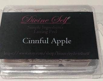 All natural Cinnful Apple Soy Wax Melt