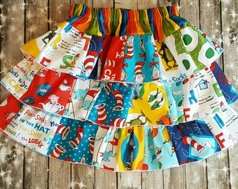 Dr. Seuss Skirt