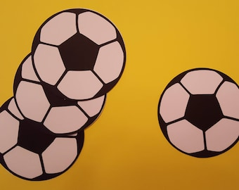 Soccerball Cut Outs
