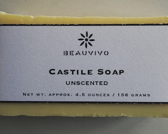 Traditional Castile Soap for Face & Body