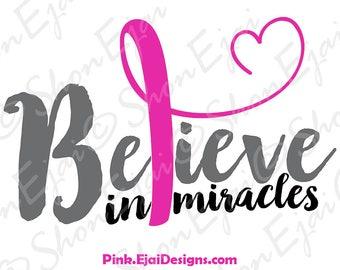 Breast Cancer Ribbon Svg, Breast Cancer Awarenss Svg, Breast Cancer Awareness Ribbon Svg, Breast Cancer Svg, Cancer Svg, Cancer Ribbon Svg