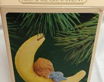 Vintage Hallmark Ornament Betsey Clark 1983 MOON