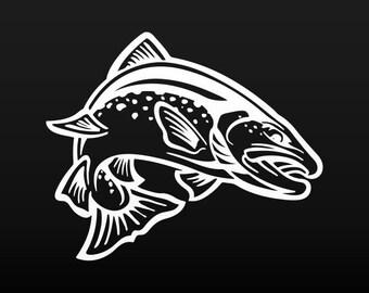 Stickers Decal Fishing Fisherman fish boat Hobbies 06106