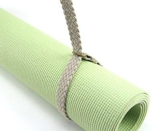 Yoga Strap / Sling   Yoga Mat Strap Mat Carrier Mat Bag Strap Crochet Yoga Sling