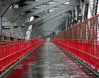 NYC Photography - Williamsburg Bridge Print - Architecture