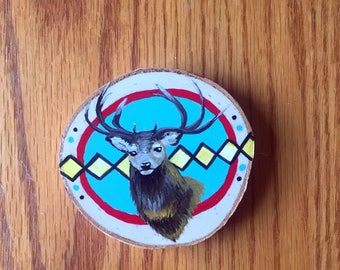 Stag Mini Painting