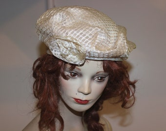 Vintage 60's Jacoll Beret Tam, Size Small, Made in New Zealand
