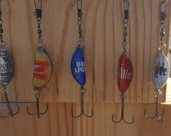 Bottle Cap Rattle Trap Fishing Lures