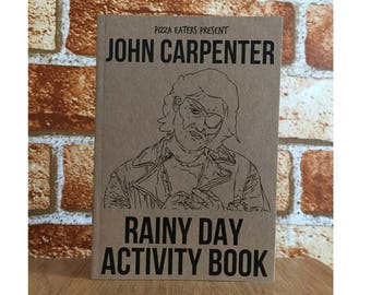John Carpenter Rainy Day Colouring Activity Book