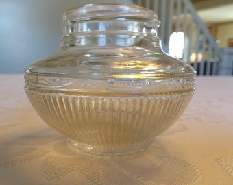 Art Deco Style 1930s Vintage Cosmetic Jar
