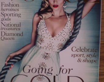 Vogue  Collectors copy celebrating the London Olympics Kate Moss cover and fashion feature