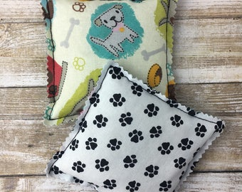 """Kozy Komfort """"Moscato"""" Style Rice Heating Pad, Hand Warmer, Ice and Hot Pack, w/Puppies and Paws Pattern"""