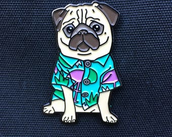 moose the pug limited edition pin!