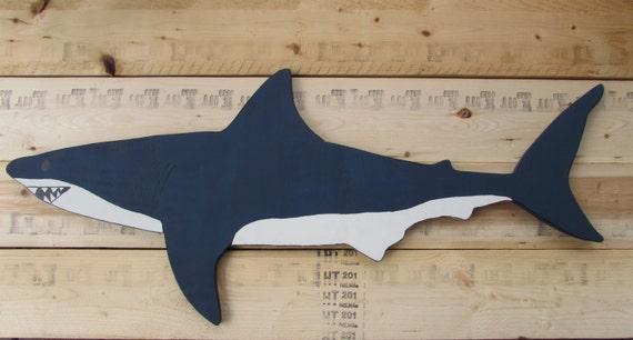 Articles similaires tenture murale ooak grand requin for Requin decoration
