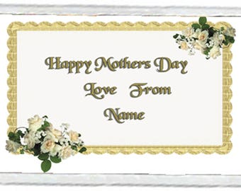 Mother's Day Acrylic Fridge Magnet Number 11