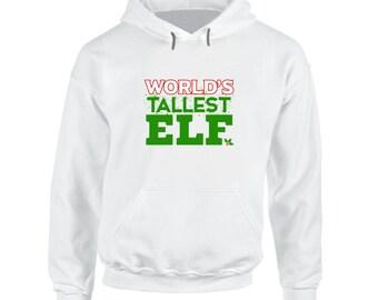 Worlds Tallest Elf Hoodie