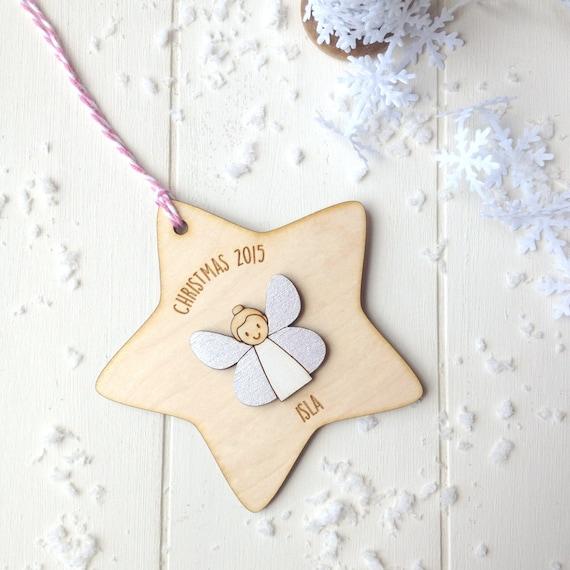 Fairy Christmas Tree Decoration - girls christmas decoration - tree decoration