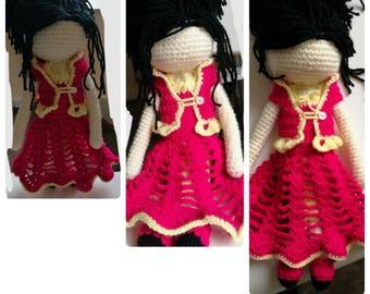 Big Crochet Doll