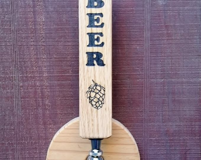 """Triangle """"BEER"""" Tap Handle"""