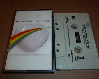 Kool And The Gang CASSETTE TAPE in the heart