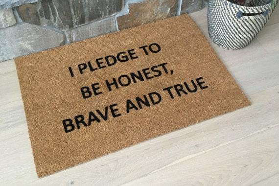 Patriotic Door Mat / Service Doormats / Doormats / Patriotic Gifts / Housewarming Gifts / Welcome Mat / Gifts for Him / Gifts for Her /