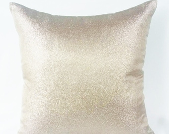 Metallic champion  Pillow Cover.Decorative metallic  Pillows Champagne Pillow Covers,Dull Gold pillow, water colour pillow cover, 12x 24inch