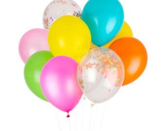 Fiesta Confetti Balloons