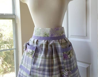 Spring Country Kitchen Apron