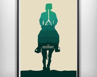 The revenant minimalist movie poster