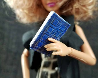 River Song's TARDIS Notebook Doll Accessory Blank Miniature Book