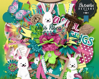 Digital Scrapbooking, Easter, Spring: Easter Blessings