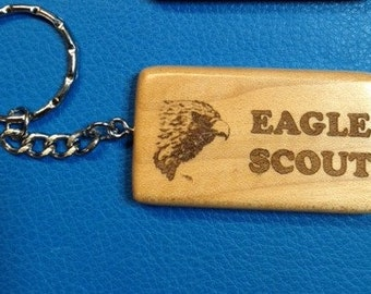 Scout Eagle Keychain