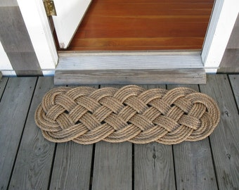 Nautical Rope Mat Manila Prolong Mat