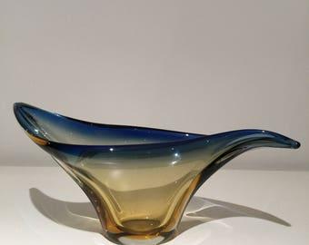 vintage murano glass cut