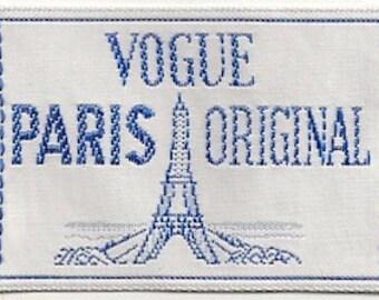 Vogue Sew-In Label Vogue Paris Original