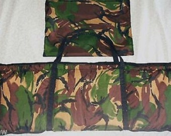 Quick Dry CARP UNHOOKING MAT/Weigh Sling Zip Up Camo + Rainproof 3D Camo By Bacsew