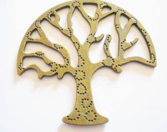 1 pendant filigree tree of life pattern