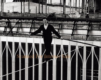 Man on Wire ~ 1974 World Trade Center, Philippe Petit The Walk NYC