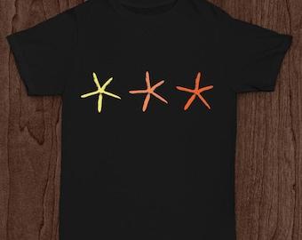 Infant/Toddler's Three Starfish Shirt