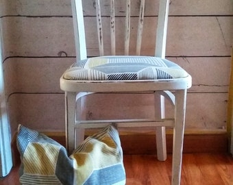Old Chair. Antique Chair. Upholstered. Decoration.