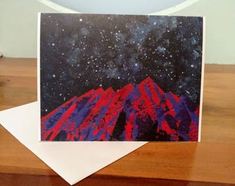 Climb Every Mountain Greeting Card, Proceeds to Charity