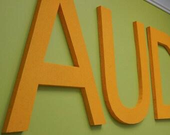 """Audimute's AcoustiColor®  36"""" Letters Helvetica"""
