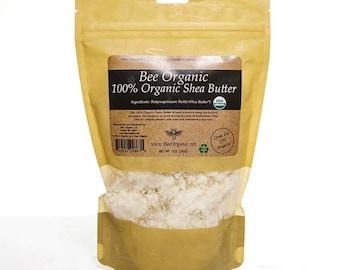 Organic USDA Shea Butter - 12oz Raw