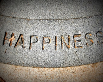 Photography Print Stone Happiness